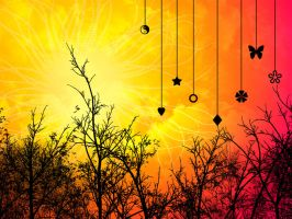 ::Sunny Day Wallpaper:: by taria