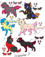 Emo Dogzz adopts CLOSED by Beniko-Adopts