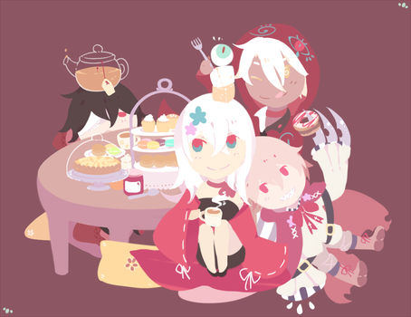 Tea Time by Akashiyuki