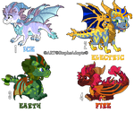 Adoptable Legend of Spyro baby Dragons ~CLOSED by StephsAdopts