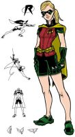 Robin Redesign by JoelRCarroll