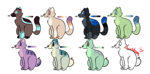 Ota cat adopts! (cheap! I'm not very picky) CLOSED by Cuddlesthecat164
