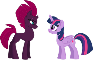 Twilight and Tempest 2 (Without Full armor) by EJLightning007arts