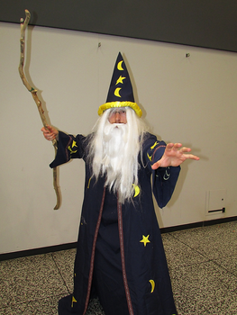Merlin the Wizard - Montreal Comic Con 2017 by J25TheArcKing