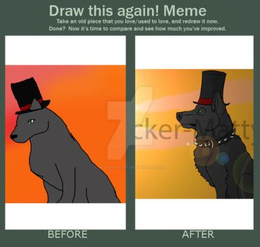 Meme: Before and after by Decker-Matty