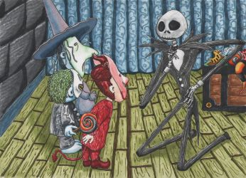The Nightmare Before Christmas by tangibleboredom