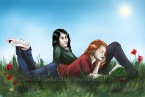 Severus and Lily by Delusionist13