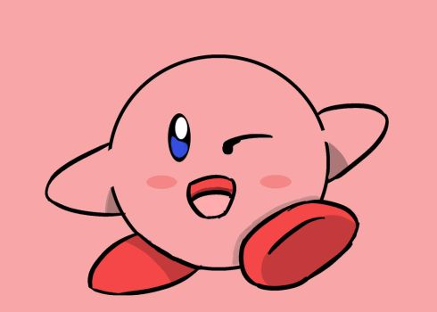 Kirby by AceMarchDraws