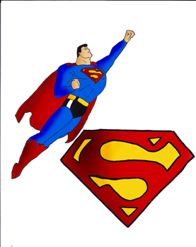 Superman Full Color by webhead9707