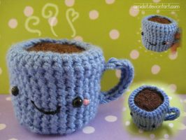amigurumi coffee by amidot