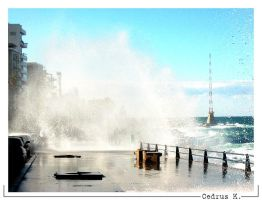 high waves 1 by cedrus