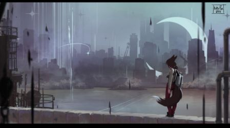 In the anomalies city by Kate-FoX