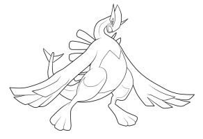 Lugia. :Lineart: by moxie2D