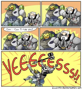 Overwatch Pals by electricbunnycomics