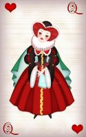 Red Queen - the Queen of Heart by SurOvOsova