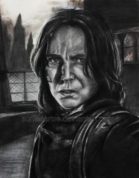 Severus Snape by SunlessRise