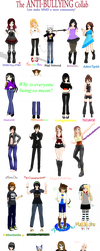 [MMD] Anti-Bullying Collab ~PART 1~ by MMD-Nay-PMD