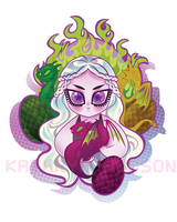 Mother of Dragons by spicysteweddemon