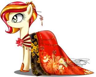 Commission - Gala Gown for Poniko by selinmarsou