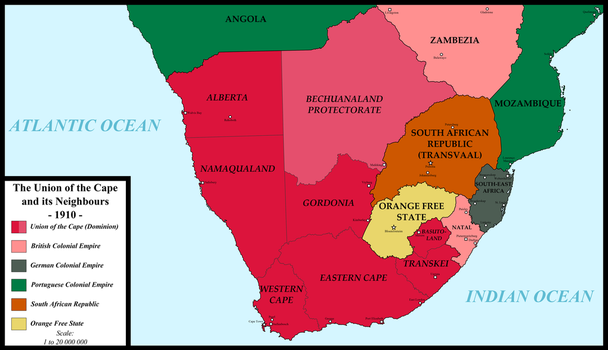 The Union of the Cape and its Neighbours by FederalRepublic
