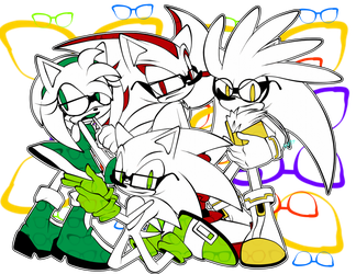 Team Hedgehogs  by Masked-Bixch