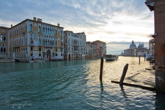 Canal Grande cruising by Sockrattes