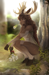 Moose by Matilda-Fiship