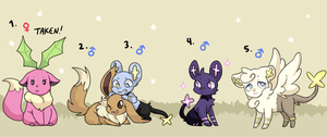 PKMNation: LesterXRhea Clutch [CLOSED] by fushigiseeds