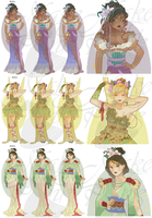 WIP3-Nouveau Princess Patterns (Hannah-Alexander)2 by pinkythepink