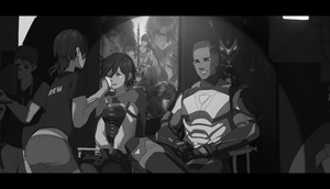 Behind the scenes by dishwasher1910