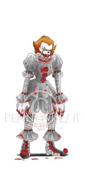 Pennywise by LadyBeelze