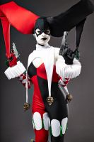 Ame Comi Harley Quinn - Pinkies Out by Enasni-V