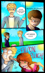 Slice Of Life Short: Falcon Punch by NatalieGuest