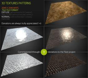 Commission - Medieval textures by Yughues