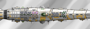 Market Saturation class cruiser shaded by Evilonavich
