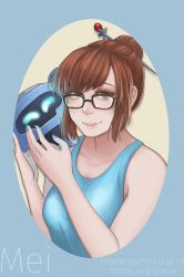 Mei Post Card by chocogingerfingers