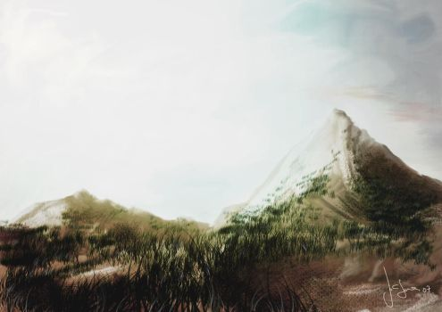 Landscape one by morrow