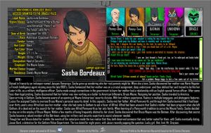 Oracle Files - Sasha Bordeaux [UPDATED] by Roysovitch