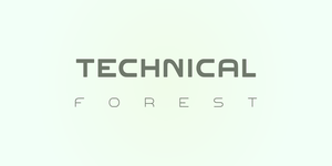 Font: Technical Forest v. 3.00 by SergeantSwierq