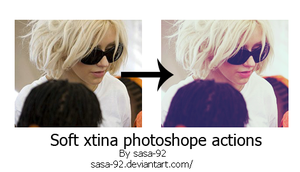 Sott Xtina Photoshop Actions by sasa-92
