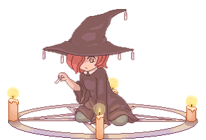 Little Witch (animated) by robo-whiskers