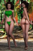Josara the Fairy in 3D by StalinDC
