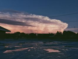 the sky is exploding  by mollyxtc