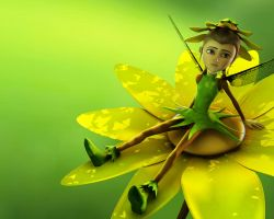 Hazel, The little Fairy by JPL-Animation