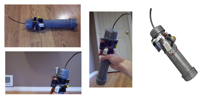 Left 4 Dead Pipe Bomb prop by Zodiacx10