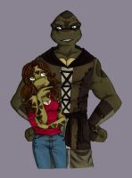 MJ / Moonstone27 TMNT commission by Lily-pily