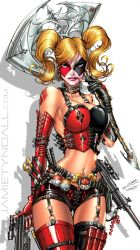 Harley Quinn - iPhone 5 Wallpaper by jamietyndall