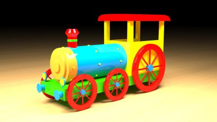 Toy Train by themikester86