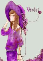 Violet by faQy