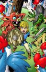 Link V Chicken by Ralphious